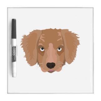 Cute cheeky Puppy Dry Erase Whiteboard