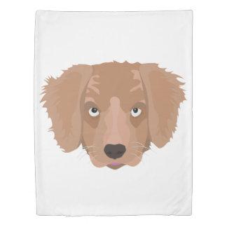 Cute cheeky Puppy Duvet Cover