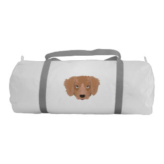 Cute cheeky Puppy Gym Bag
