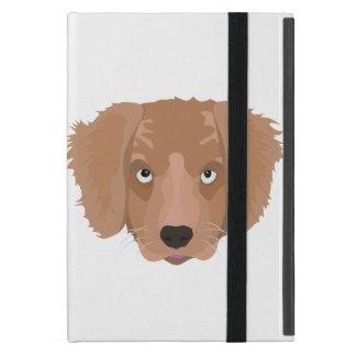 Cute cheeky Puppy iPad Mini Covers