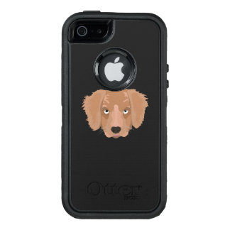 Cute cheeky Puppy OtterBox iPhone 5/5s/SE Case