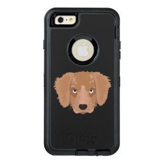 Cute cheeky Puppy OtterBox iPhone 6/6s Plus Case