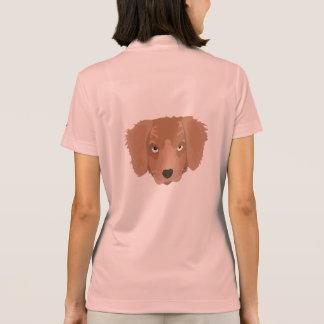 Cute cheeky Puppy Polo Shirt