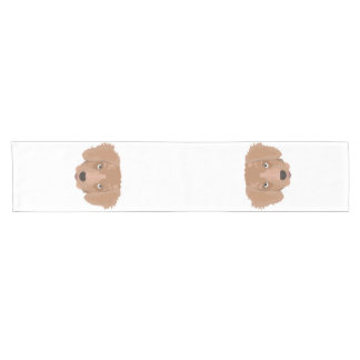 Cute cheeky Puppy Short Table Runner
