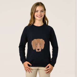 Cute cheeky Puppy Sweatshirt