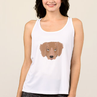 Cute cheeky Puppy Tank Top