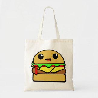 Cute Cheese Burger Character