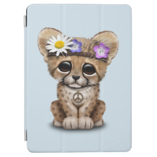 Cute Cheetah Cub Hippie iPad Air Cover
