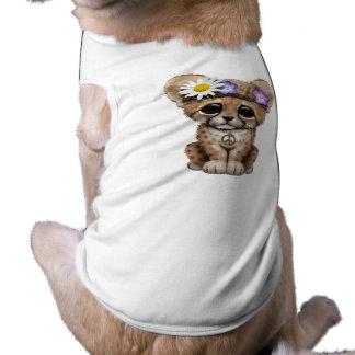 Cute Cheetah Cub Hippie Shirt