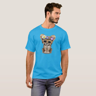 Cute Cheetah Cub Hippie T-Shirt