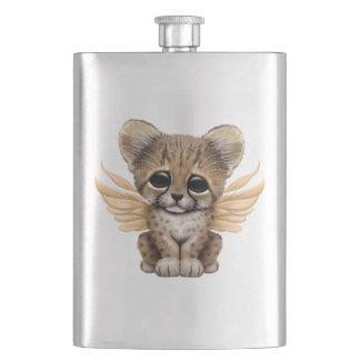 Cute Cheetah Cub with Fairy Wings Flasks