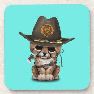 Cute Cheetah Cub Zombie Hunter Coaster