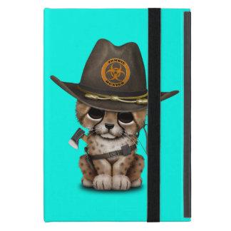 Cute Cheetah Cub Zombie Hunter Cover For iPad Mini