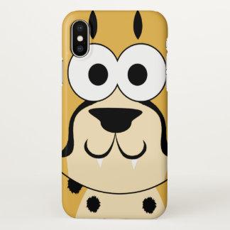 Cute Cheetah iPhone X Case