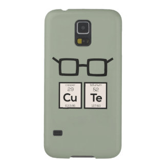 Cute chemical Element Nerd Glasses Zwp34 Cases For Galaxy S5
