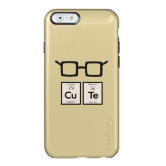 Cute chemical Element Nerd Glasses Zwp34 Incipio Feather® Shine iPhone 6 Case