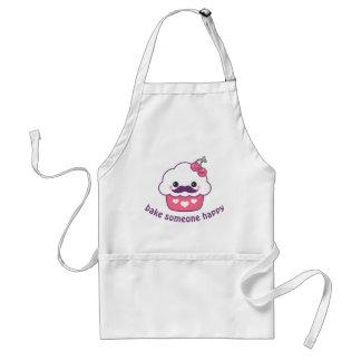 Cute Cherry Cupcake Baking Standard Apron