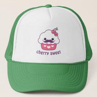 Cute Cherry Cupcake Trucker Hat
