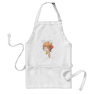 Cute chibi cook apron