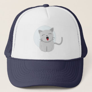 Cute Chibi Kitty Cat 3 Trucker Hat