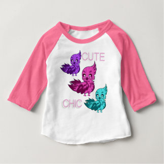 Cute Chic T-shirt with Sleeves