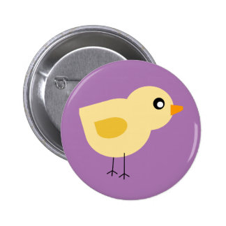 Cute Chick 2 Inch Round Button