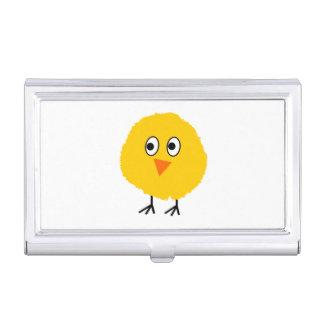 Cute chicken cartoon business card cases