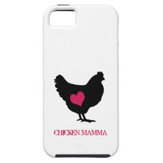 Cute Chicken with Pink Heart iPhone 5 Case