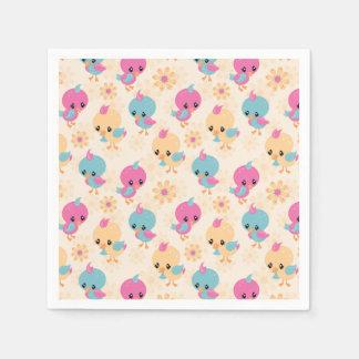 Cute Chicks paper napkins