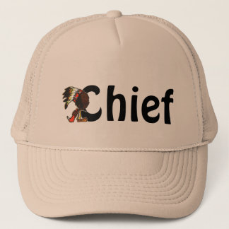 Cute Chief Chiefs Native American Fun Trucker Hats