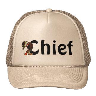 Cute Chief Chiefs Native American Fun Trucker Hats