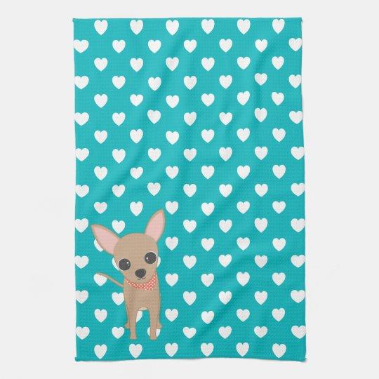 Cute Chihuahua Hand Towels