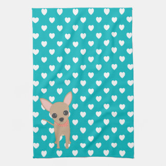 Cute Chihuahua Kitchen Towel