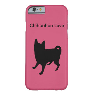 Cute Chihuahua Love Pink Phone Case Barely There iPhone 6 Case