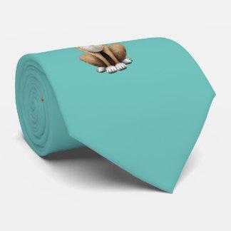 Cute Chihuahua Puppy Dj Wearing Headphones Tie
