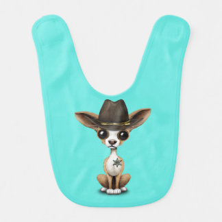 Cute Chihuahua Puppy Sheriff Bib