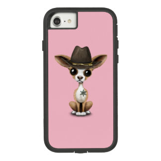 Cute Chihuahua Puppy Sheriff Case-Mate Tough Extreme iPhone 8/7 Case