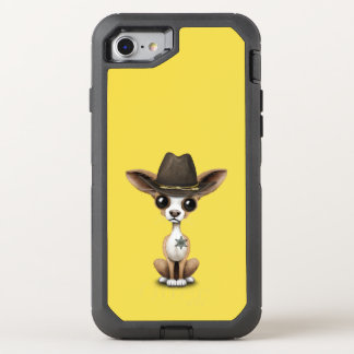 Cute Chihuahua Puppy Sheriff OtterBox Defender iPhone 8/7 Case