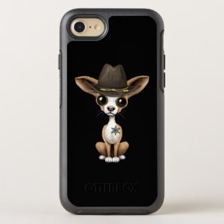 Cute Chihuahua Puppy Sheriff OtterBox Symmetry iPhone 8/7 Case