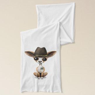 Cute Chihuahua Puppy Sheriff Scarf