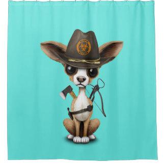 Cute Chihuahua Puppy Zombie Hunter