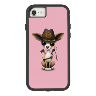Cute Chihuahua Puppy Zombie Hunter Case-Mate Tough Extreme iPhone 8/7 Case