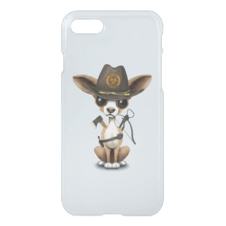 Cute Chihuahua Puppy Zombie Hunter iPhone 8/7 Case