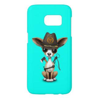 Cute Chihuahua Puppy Zombie Hunter Samsung Galaxy S7 Case