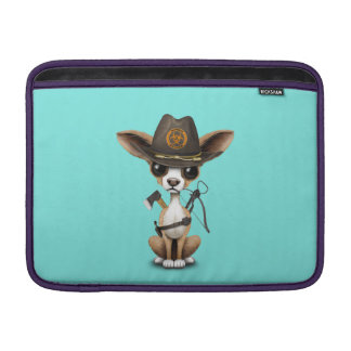Cute Chihuahua Puppy Zombie Hunter Sleeve For MacBook Air
