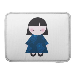 Cute chinese girl sleeves for MacBooks