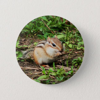 Cute Chipmunk 2 Inch Round Button