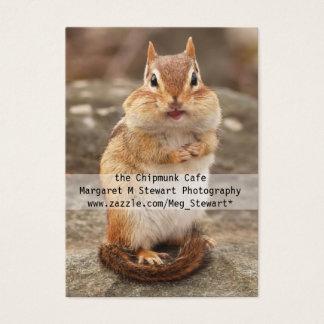 Cute Chipmunk Business Cards