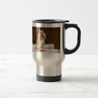 Cute Chipmunk Eating a Peanut Coffee Mug