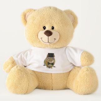 Cute Chipmunk in Formal Attire Teddy Bear